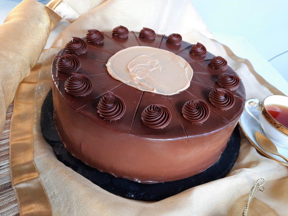 la mejor tarta de chocolate de Sevilla